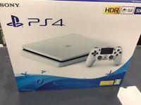 WHITE PS4 SLIM NEW
