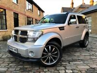 Dodge Nitro 2.8 CRD SXT 5dr£4,749 p/x welcome *6 MONTHS WARRANTY*FULL S/H* 20...