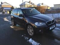 BMW X5 m sport dec 2010 sat nav