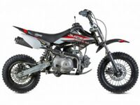 STOMP JB 110 PIT BIKE, NEW, FINANCE AVAILABLE, KIDS, CHILDS MOTORBIKE