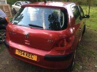 Peugeot mileage 77800 good condition