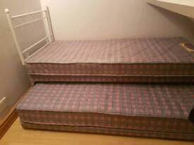 Single Bed converts to full Double Bed