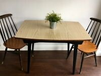 Vintage Mid Century Dining Table