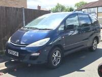 TOYOTA PREVIA T3 D-4D - SPARES OR REPAIRS