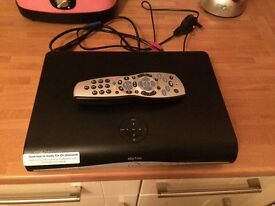 Sky Box with Remote and Cables