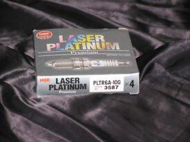 NGK LASER PLATINUM SPARK PLUGS PLTR6A-10G (Stock No.3587)