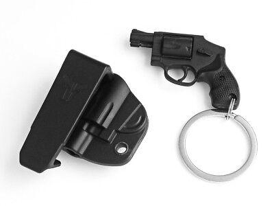 Blade Tech Keychain Revolver Pistol Belt Holster KeyRing Snubnose Key Ring Chain