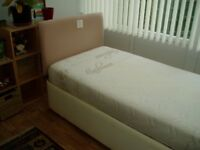Electric Single Bed complete with Mattress