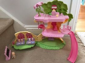 Girl Woodland Figurine Game - School Tree House - From ELC - Perfect Condition with original box