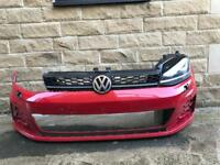 Genuine VW Golf GTD MK7 Front Bumper & Xenon LED Headlight 2013-2017