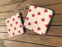 2 strawberry seat covers