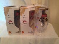 18 boxed Stella cidre glassses