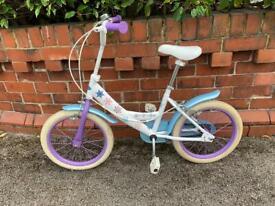 Girls Frozen bicycle