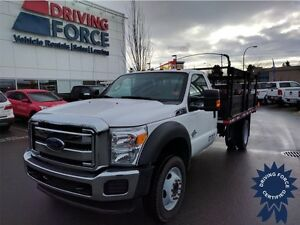 2015 Ford Super Duty F-550 XLT 4WD Regular Cab - 17,281 KMs