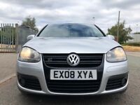 Vw golf gt sport 2.0 diesel 170 bhp 08 reg 5 door 2 owners swaps px