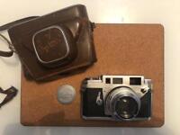 Vintage Camera,Konica 111A f/2 48 mm.