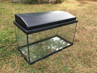 Fish Tank with Lid and Light