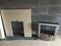 Fireplace and electric fire