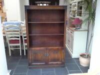 Bookcase - Old Charm make - dark wood