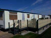 BEAUTIFUL CARAVAN INGOLDMELLS SKEGNESS FOR SALE INCLUDING 2017 GROUND RENT AND CHANGE OVER FEES