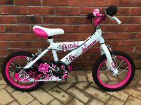 Girls Avigo Dream 14inch girls bike