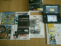 New 3DS XL plus charger and 4 games