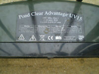 ADVANTAGE POND CLEAR 15w UV UNIT