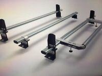 Peugeot partner 3 roof rack bar + stops + roller 2008 on model