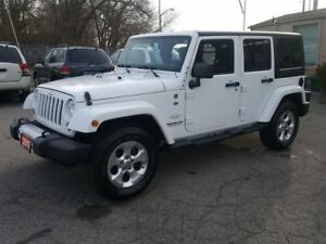 2013 Jeep WRANGLER UNLIMITED Sahara 4X4 NAV 2 TOPS