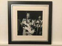 Jimi Hendrix Photo Framed Picture
