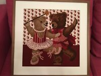 Embroidery Teddy Bear Picture