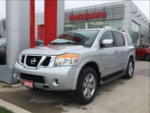 2012 Nissan Armada Platinum Edition, New Tires, Navi, DVD