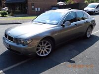 LEFT HAND DRIVE,BMW 7 SERIES 730D SALOON DIESEL