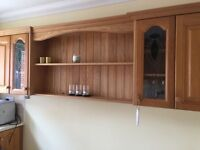 Fitted kitchen cupboards