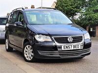 7 Seater -- 2008 Volkswagen Touran 1.6 -- Part Exchange OK -- alike toyota verso vauxhall zafira