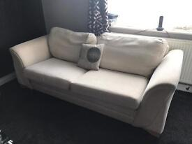 2x 3 seater sofas from DFS for SWAP