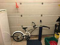 CHILD TRAILER TAG A LONG BIKE - ADAMS TRAIL A BIKE 3-SPEED WITH SAFETY FLAG OFFERS WELCOME!!