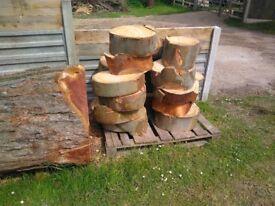 Firewood, Pallet of Eucalyptus Rings