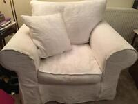 2 X Collins & Hayes armchairs-Free delivery