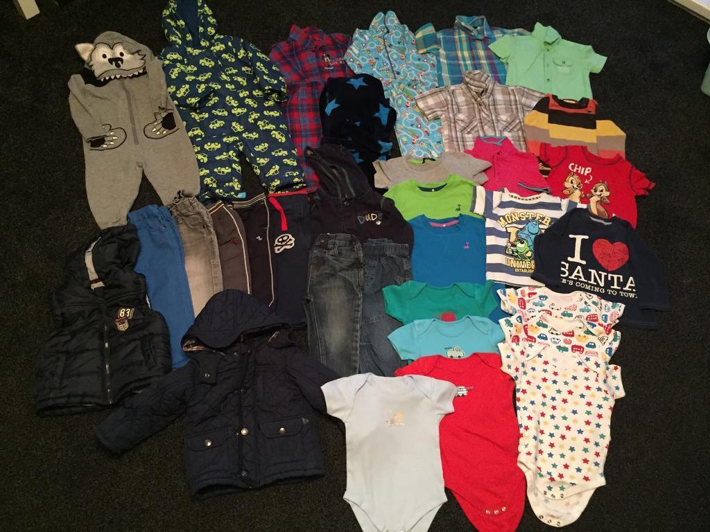Boys clothes 12-18 months