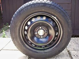 Renault Scenic megane steel wheel with tyre 195/65R15