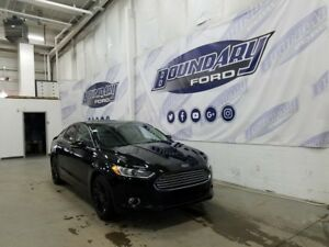 2016 Ford Fusion SE W/ AWD, Leather, Remote Start, BLIS, Auto