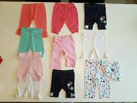 Baby girls Leggings bundle