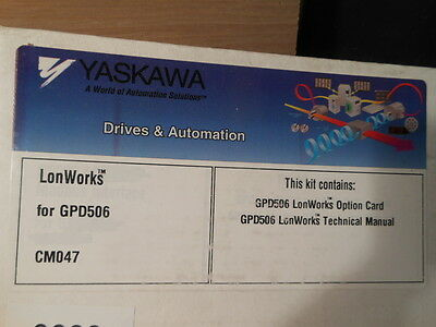 Yaskawa Lonworks Interface Card Software Gdp 506p5 Ac Drive Cm047 Tm4587 New