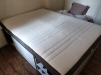 IKEA MORGEDAL MEMORY FOAM MATTRESS, MEDIUM FIRM, 140x200, £100 ONO (COLLECTION ONLY)