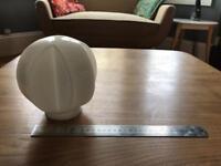 40's / 50's white lampshade