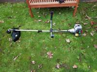 Petrol strimmer fully working double handles not lawnmower mower