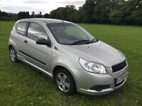 Chevrolet Aveo ( not Clio,fiesta,or corsa)