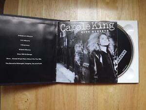 "FS: 1989 (BMI) Carole King ""City Streets"" Promotional CD"