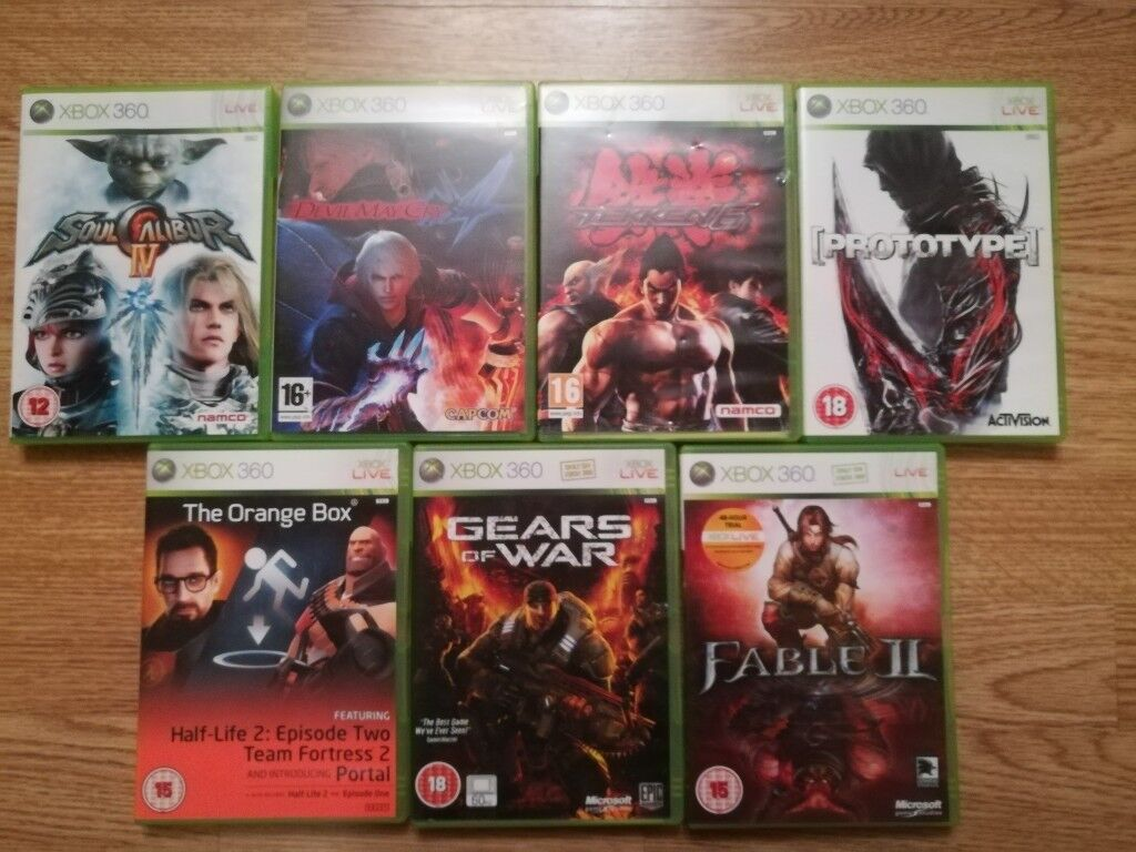 Used XBox 360 Games In Very Good Condition